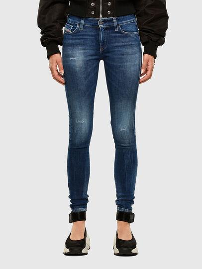 Diesel - Slandy 009CX, Bleu moyen - Jeans - Image 1