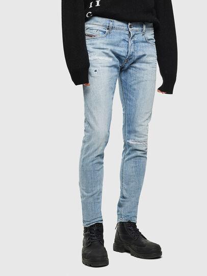 Diesel - Tepphar 0095V, Bleu Clair - Jeans - Image 1
