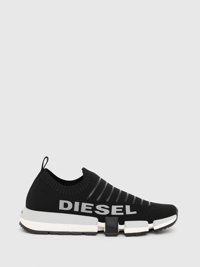 Diesel - H-PADOLA LOW SOCK, Noir - Baskets - Image 1