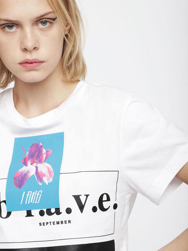 Diesel - T-GODIE, Blanc - T-Shirts - Image 3
