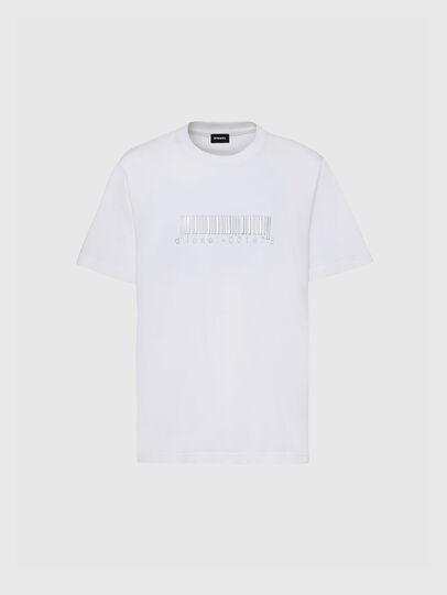 Diesel - T-JUST-SLITS-X85, Blanc - T-Shirts - Image 1