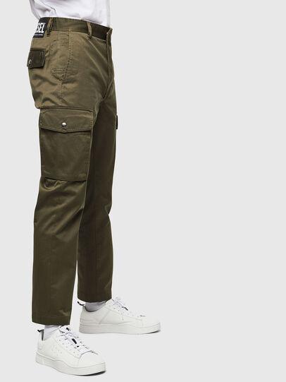Diesel - P-JARED-CARGO, Vert - Pantalons - Image 3