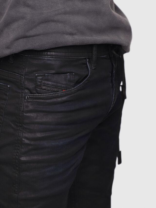 Diesel - Thommer JoggJeans 0688U, Noir/Gris foncé - Jeans - Image 2