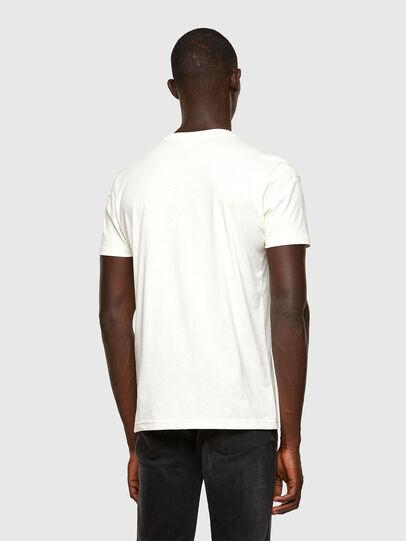 Diesel - T-DORYMO-A1, Blanc - T-Shirts - Image 2
