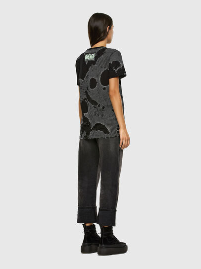 Diesel - T-DARIA-E4, Noir - T-Shirts - Image 5