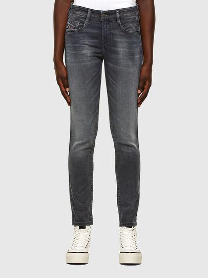 Diesel - D-Ollies JoggJeans® 069QA, Noir/Gris foncé - Jeans - Image 1