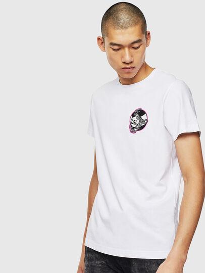 Diesel - T-DIEGO-J10, Blanc - T-Shirts - Image 1