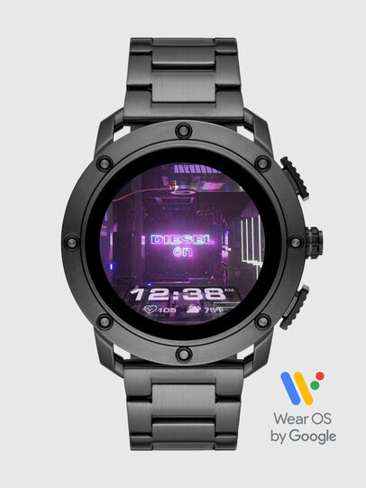Diesel - DT2017, Gris foncé - Smartwatches - Image 1