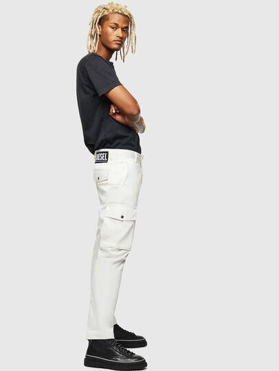 Diesel - P-JARED-CARGO, Blanc - Pantalons - Image 4