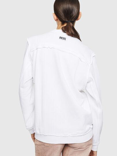 Diesel - F-LYANY-G, Blanc - Pull Cotton - Image 2