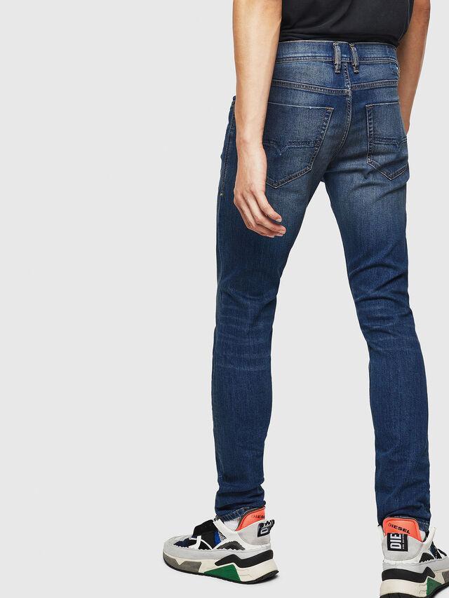 Diesel - Tepphar 087AW, Bleu Foncé - Jeans - Image 5