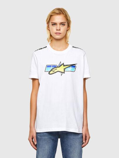 Diesel - ASTARS-T-DIEGOS-B-FL, Blanc - T-Shirts - Image 1
