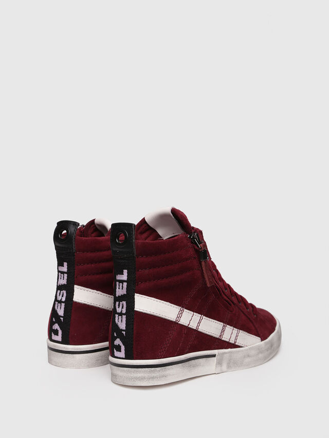Diesel - D-VELOWS MID LACE, Rouge - Baskets - Image 2