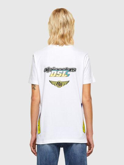 Diesel - ASTARS-T-DIEGOS-B-FL, Blanc - T-Shirts - Image 2