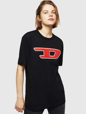 T-JUST-DIVISION-D-FL, Noir - T-Shirts