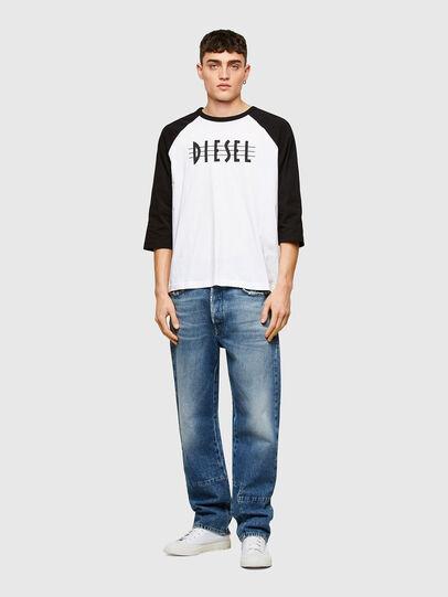 Diesel - T-BEISBOL, Blanc - T-Shirts - Image 4