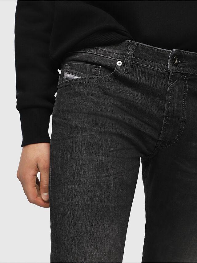 Diesel - Thommer 0687J, Noir/Gris foncé - Jeans - Image 3