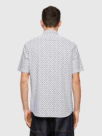 Diesel - S-RILEY-SHO-KA-C, Blanc - Chemises - Image 2