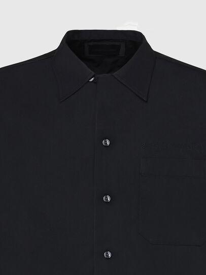 Diesel - S-MOOL-A, Noir - Chemises - Image 3