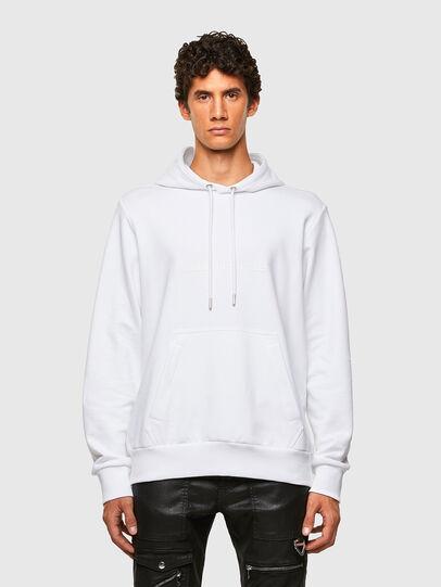 Diesel - S-GIRPO-HOOD, Blanc - Pull Cotton - Image 1