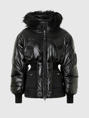 W-ISOKE-SHINY, Noir - Vestes d'hiver