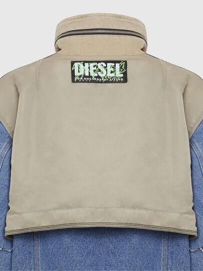 Diesel - G-CLARICE, Beige/Bleu - Vestes - Image 6