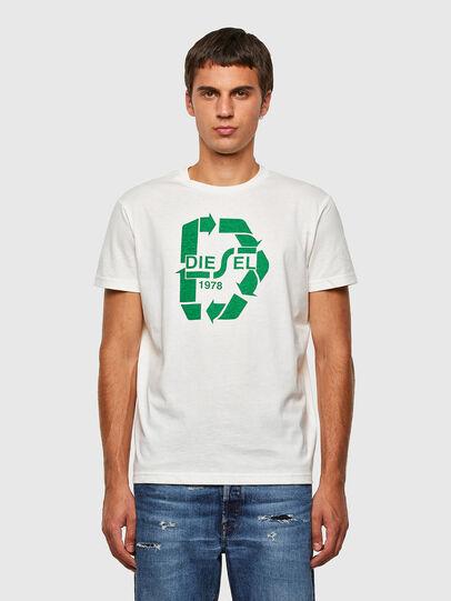 Diesel - T-DIEGOS-N23, Blanc - T-Shirts - Image 1