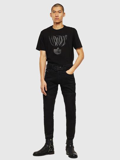 Diesel - T-JUST-J10, Noir - T-Shirts - Image 5