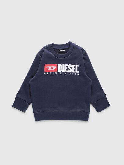 Diesel - SCREWDIVISIONB-R, Bleu Foncé - Pull Cotton - Image 1