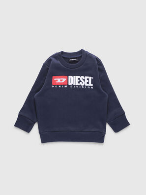 SCREWDIVISIONB-R, Bleu Foncé - Pull Cotton