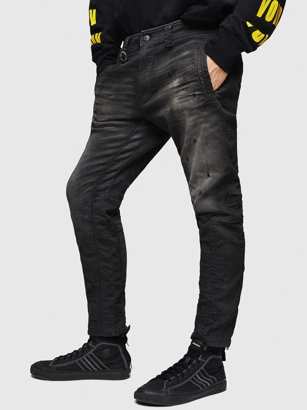 D-Earby JoggJeans 069GN, Noir/Gris foncé - Jeans