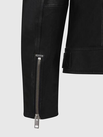 Diesel - L-CODY, Noir - Vestes de cuir - Image 4