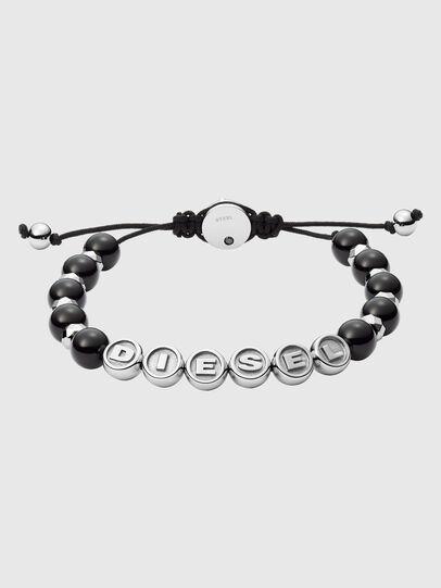 Diesel - DX1267, Noir/Gris argenté - Bracelets - Image 1