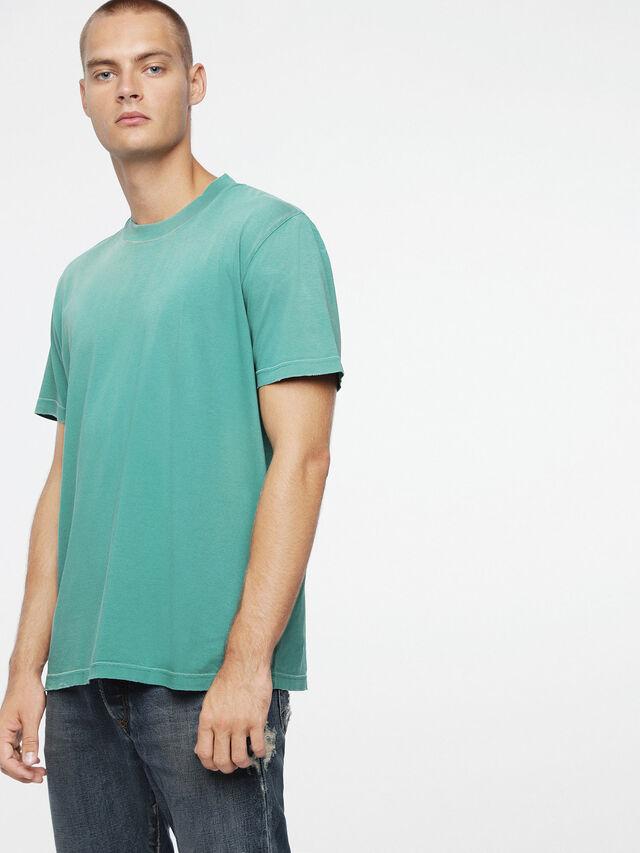 Diesel T-JOEY-T, Vert d'Eau - T-Shirts - Image 1