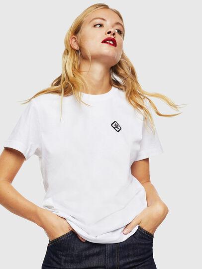 Diesel - CC-T-DIEGO-COLA, Blanc - T-Shirts - Image 2
