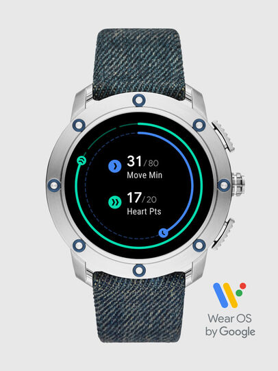 Diesel - DT2015, Jean Bleu - Smartwatches - Image 6