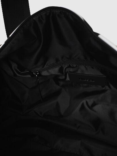 Diesel - F-BOLD DUFFLE, Noir/Blanc - Sacs de voyage - Image 5