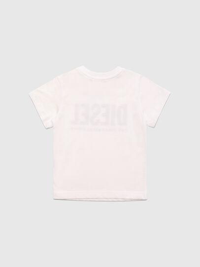 Diesel - TJUSTLOGOB, Blanc - T-shirts et Hauts - Image 2