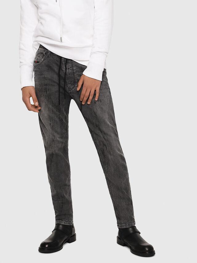 Diesel - Narrot JoggJeans 8880U, Noir/Gris foncé - Jeans - Image 1