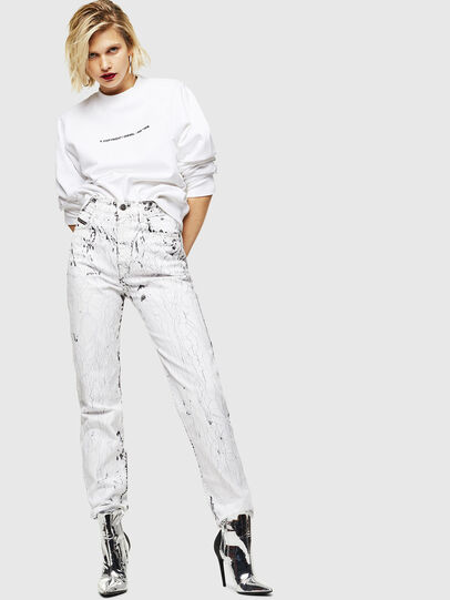 Diesel - F-ANG-COPY, Blanc - Pull Cotton - Image 5