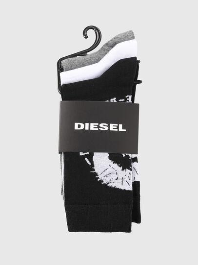 Diesel - SKM-RAY-THREEPACK, Polychrome/Noir - Chaussettes - Image 2