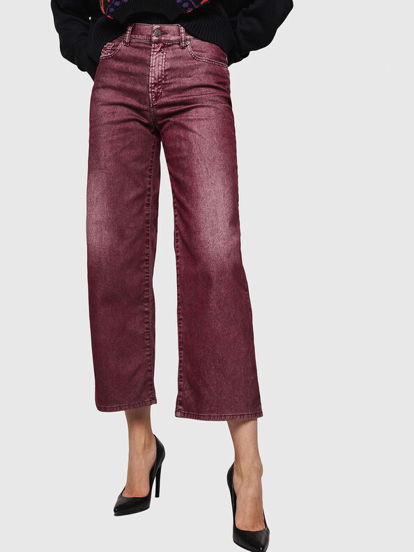 Widee 0091T, Bordeaux - Jeans