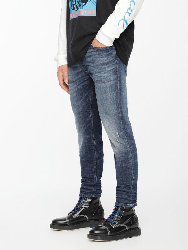 Diesel - Sleenker 084UI, Bleu moyen - Jeans - Image 3
