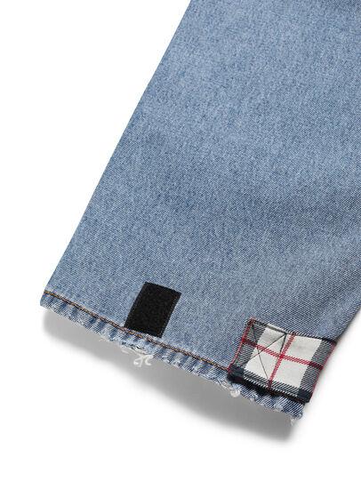 Diesel - D-DEEPCHECKDENIM, Bleu Clair - Pantalons - Image 5