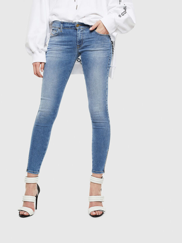 Slandy Low 0095B, Bleu Clair - Jeans