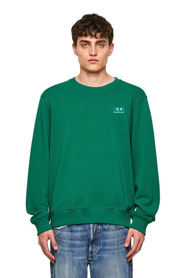 Sweat-shirt Green Label avec logo emoji