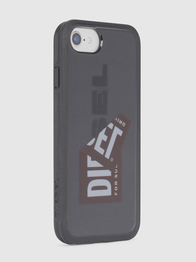 Diesel - STICKER IPHONE 8/7/6S/6 CASE, Noir - Coques - Image 3