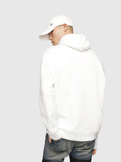 Diesel - S-AFTER, Blanc - Pull Cotton - Image 3