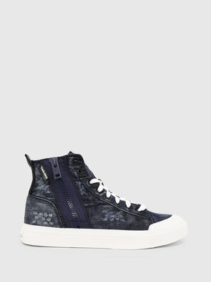 S-ASTICO MID ZIP, Bleu - Baskets
