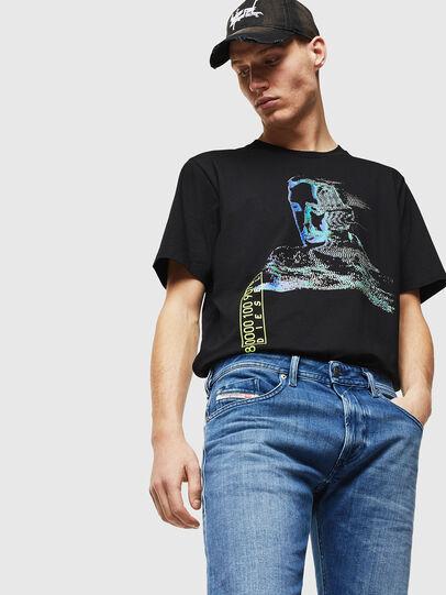 Diesel - Thommer 0097X, Bleu moyen - Jeans - Image 3